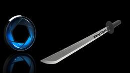 Keyshot cutting sword