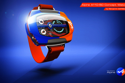 Renault Alpine A110-50 Concept Watch