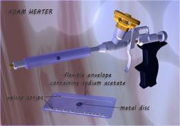 foam heater