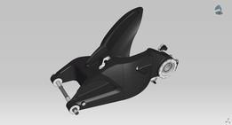 Ducati Monster 1100S Rearswingarm