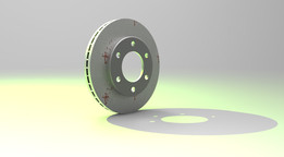 Front Vented Disk brake - Mitsubishi L200 Triton