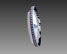 Lapel pin IDSA 2. mod