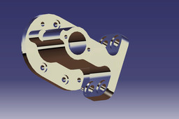 gear pump body
