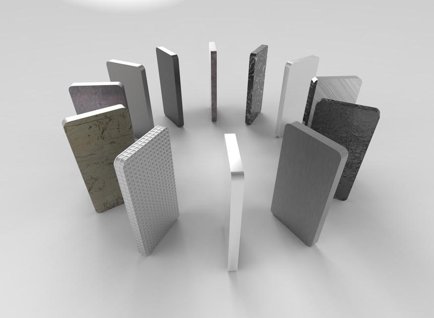 Keyshot, Renders, Experiment of Materials | 3D CAD Model