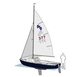 Sailboat Lanaverre 17