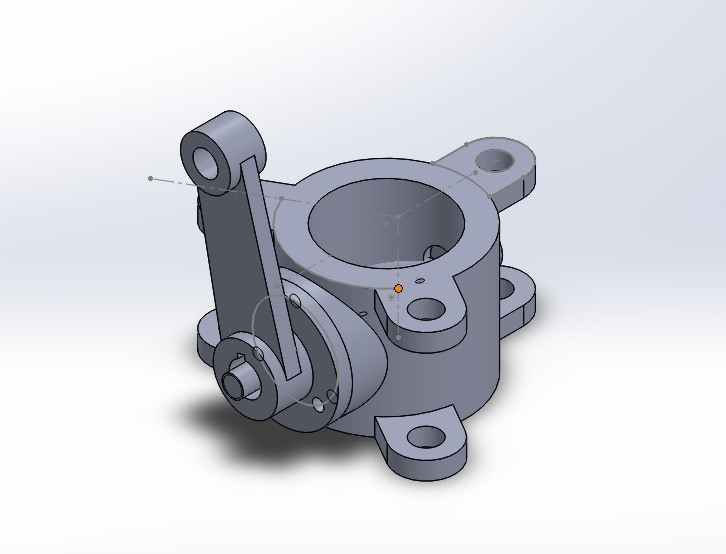 butterfly valve | 3D CAD Model Library | GrabCAD