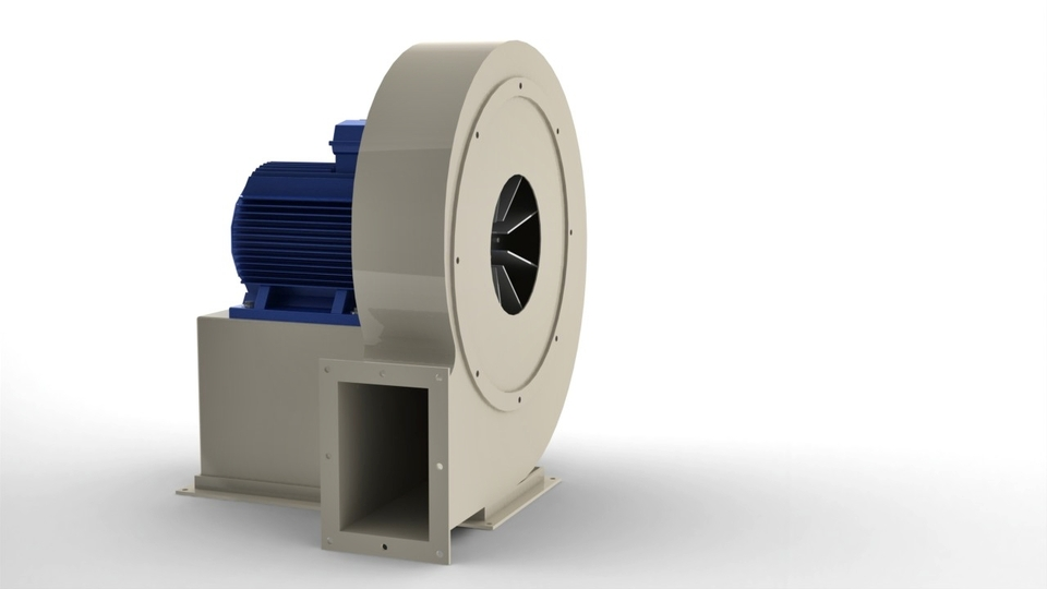 Centrifugal Fan Solidworks Solidworks 3d Cad Model
