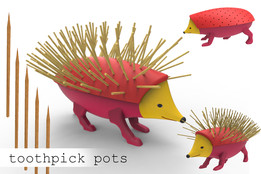 toothpick pots
