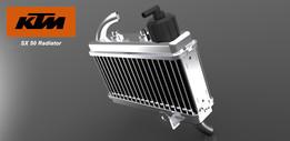 KTM 50 SX Radiator