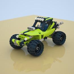 Lego Technic set 42027-Desert Racer-2014
