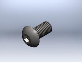 ISO 7380 - DIN 7380  Parafuso oval sextavado