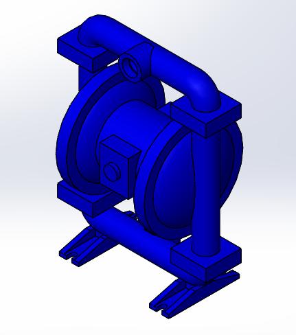 Air operated diaphragm pump 1 12 3d cad model library grabcad ccuart Images