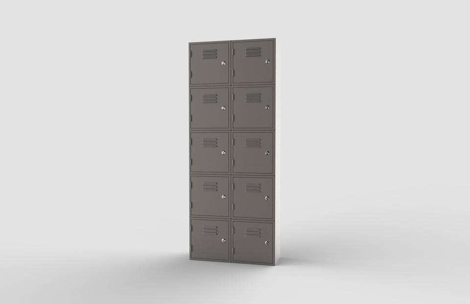 locker   3D CAD Model Library   GrabCAD