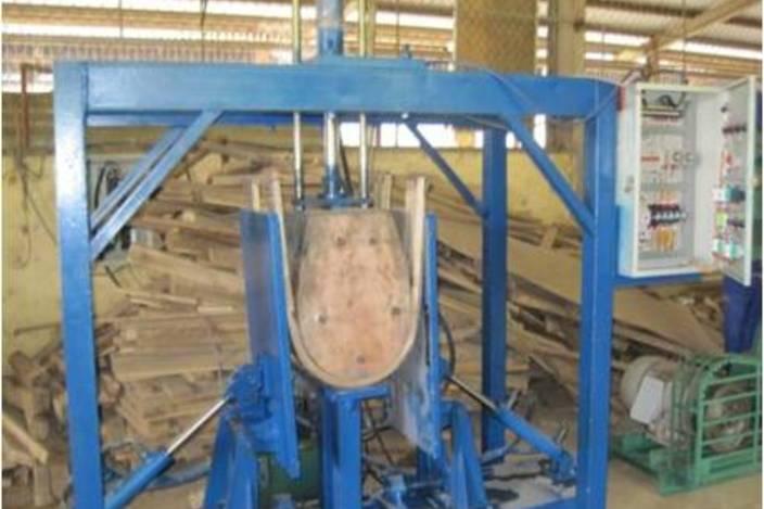 wood bending machine
