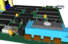 USB based Eprom programmer PCB