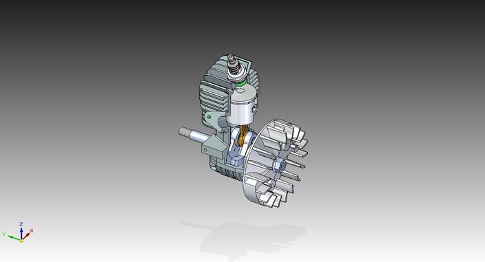 2-Stroke Chainsaw Motor
