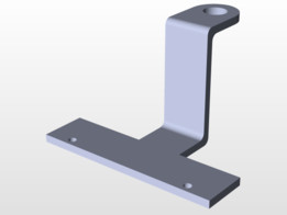 Aux Battery Mount Support
