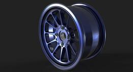 Light Alloy Wheel Rim 16 x 8 in.