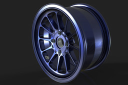 Light Alloy Wheel Rim 16 x 8 in.