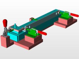 Fixture model for welding