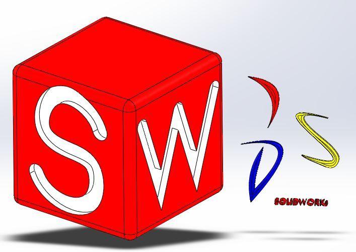 solidworks logo - solidworks - 3d cad model - grabcad