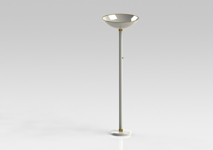 Home floor torch lamp 3d cad model library grabcad aloadofball Gallery