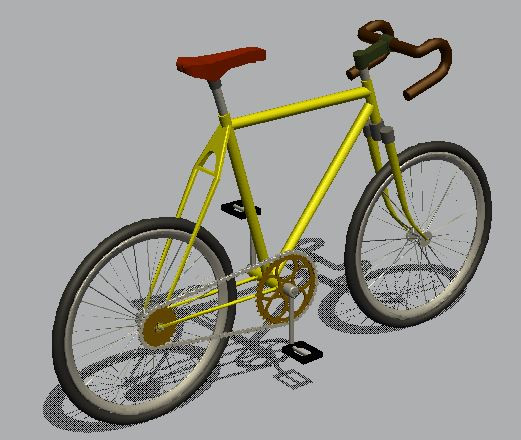 3d Bicycle Design 3d Cad Model Library Grabcad