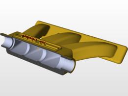 Intake Manifold  Coupe 50%.