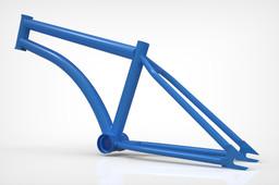 BMX Flatland - Hoffman Strowler Frame