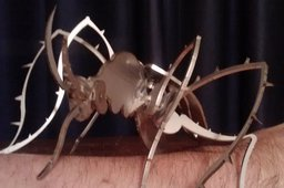 Mosquito, insect,  bugs, 3d model, puzzle, sheetmetal, metalcraftdesign