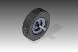 80 cm wheel & hub