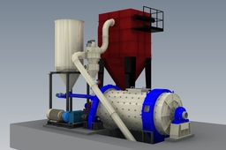 BALL MILL WITH CLASSIFIER