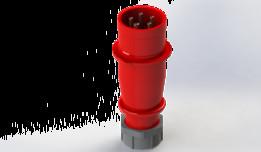 CEE Plug 3pin 3P+N+PE Male 380V 32A typ 4