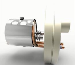 Silicon evaporator