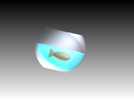 Fish Bowl (including fish)