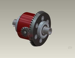 Car Differential Gears