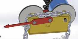 Mechanical Chain Wear Indicator