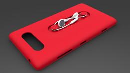 Nokia Lumia 820 earbuds holder