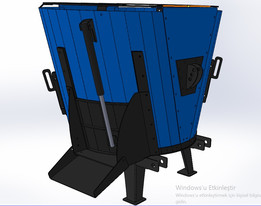 Vertical Feed Mixer wagon