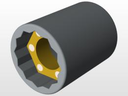 magnetic socket 13mm
