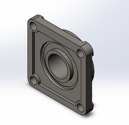 Square Flange Bearing
