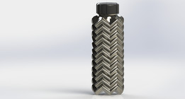 Insulated texture bottle