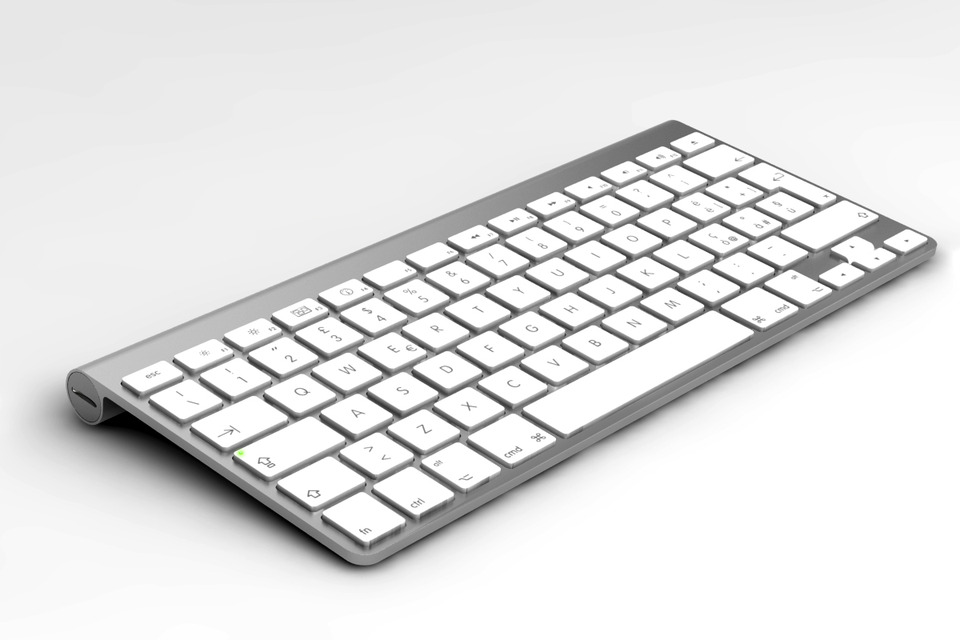 apple keyboard windows 7 print screen key