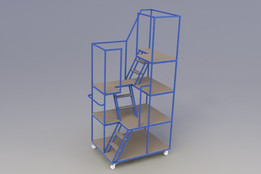 Multilevel Picking Trolley