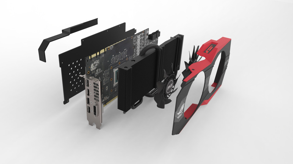 Asus GTX 980 Matrix Graphic Card - SOLIDWORKS,STEP / IGES ... - photo#49
