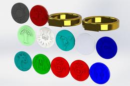 MtG Guild rings