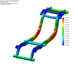 Mercedes G Class Chassis Carbon Reinforcement