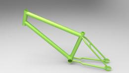 BMX Bicycle Body Frame