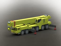 Liebherr Mobile Crane LTM 1250