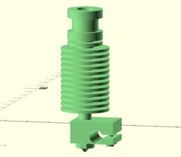 E3D v6 Extruder